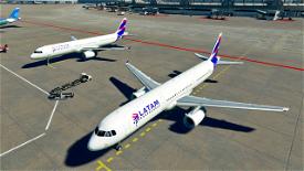 LATAM [4K] Image Flight Simulator 2020