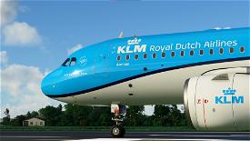 KLM A320 | 10K Resolution Image Flight Simulator 2020