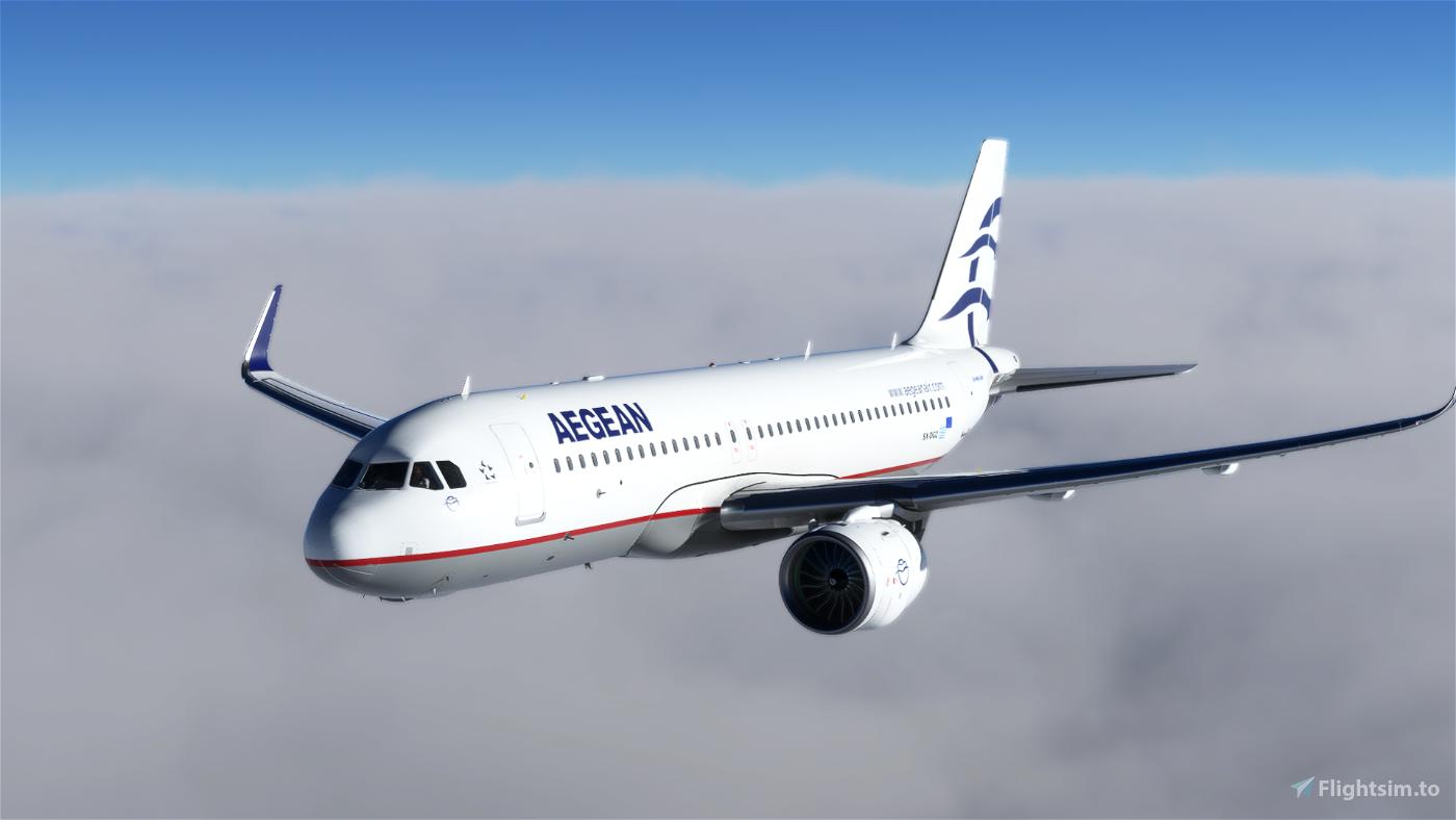 [8K] Aegean Airlines (SX-DGZ) Flight Simulator 2020