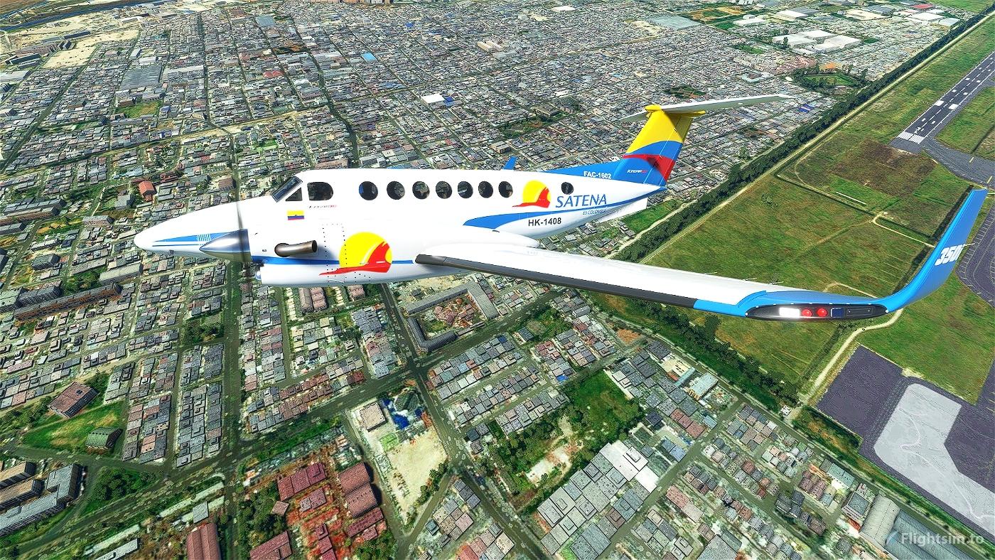 SATENA Flight Simulator 2020