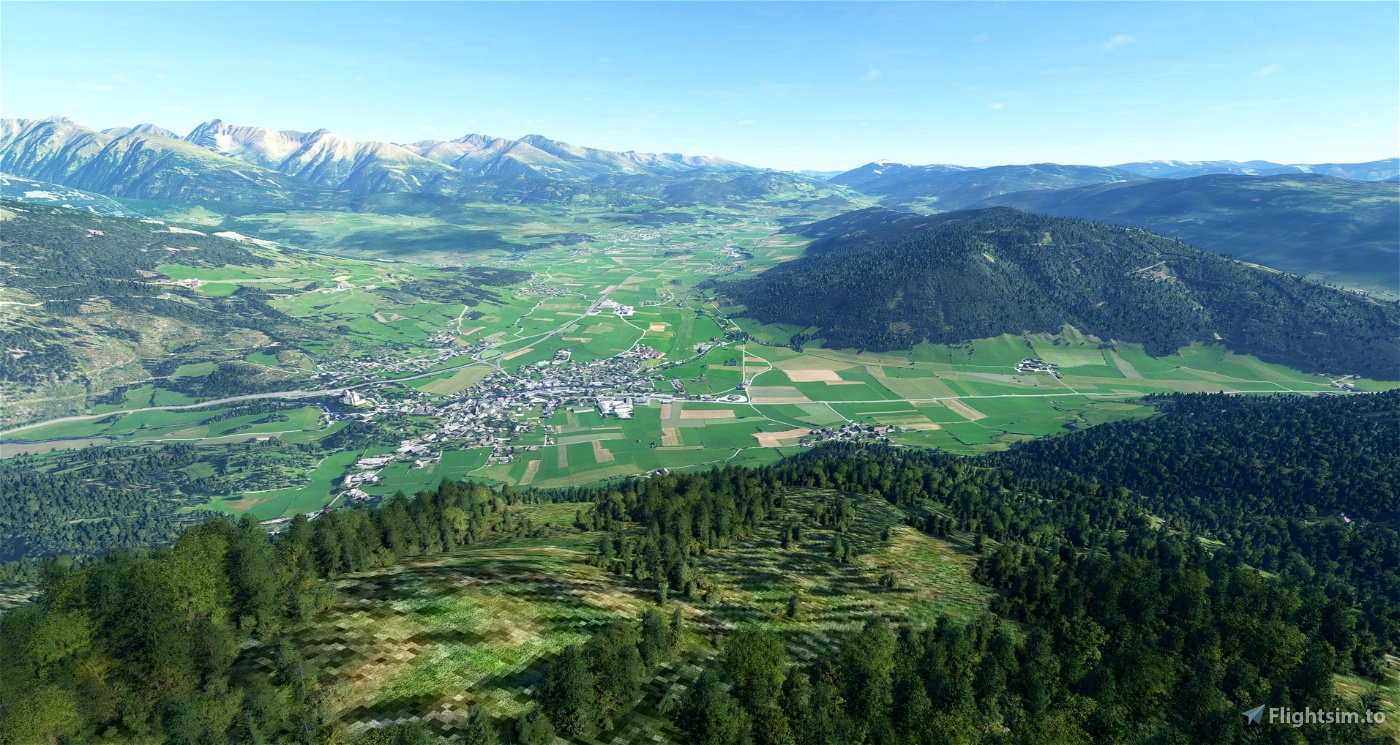 Better Orthophoto for Mauterndorf in Austria