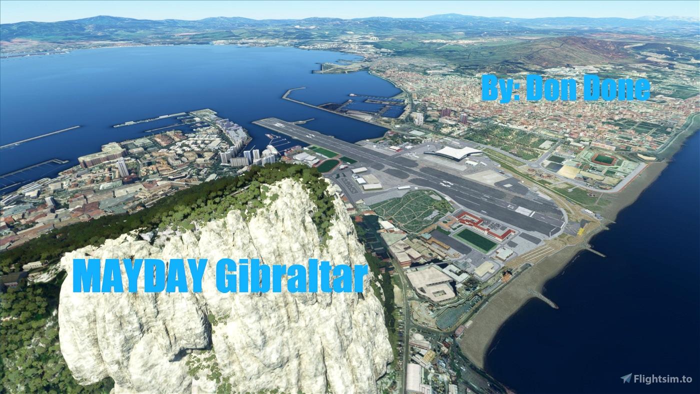 MAYDAY Gibraltar Flight Simulator 2020
