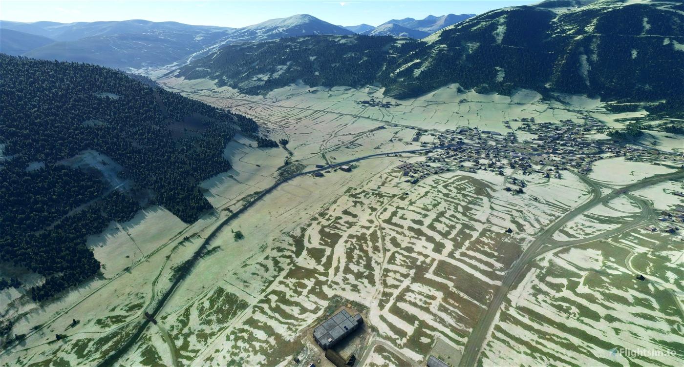 Better Orthophoto for Mauterndorf in Austria Flight Simulator 2020