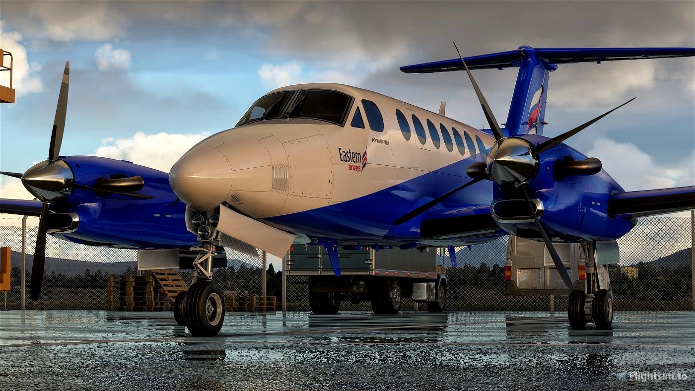 Beechcraft KingAir 350 Eastern Airways Flight Simulator 2020