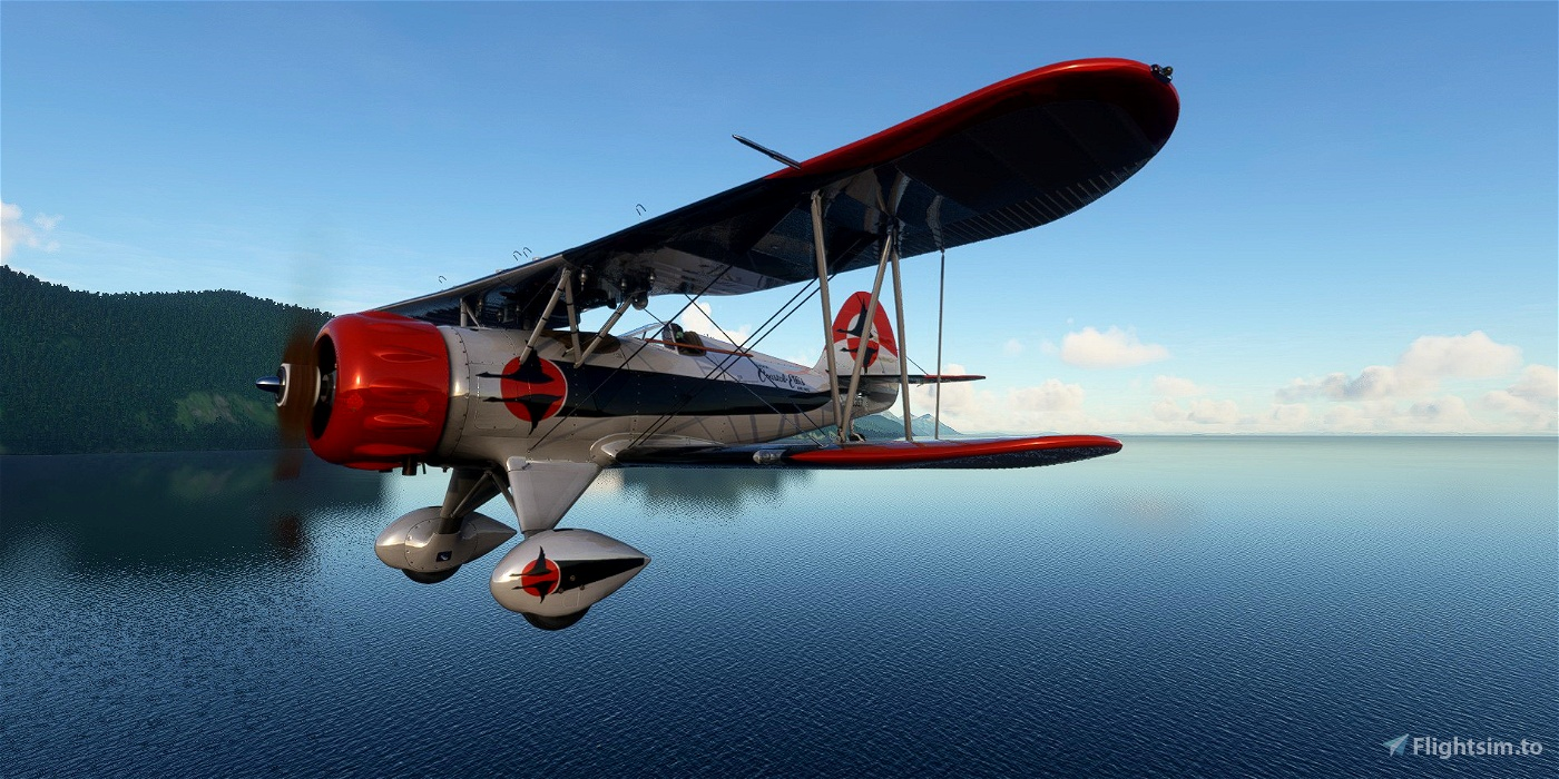 Waco YMF-5 NC357 Alaska Coastal Ellis Airways