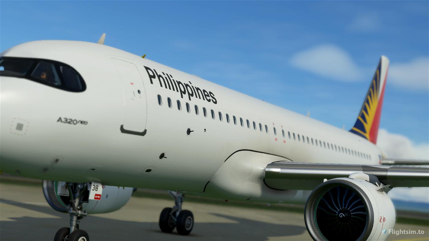 [8K] A320N Philippine Airlines v2.0  Flight Simulator 2020