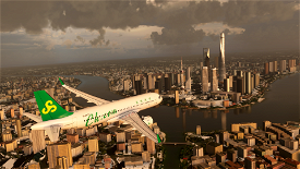 A320neo Spring Airlines 8k Livery Image Flight Simulator 2020
