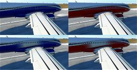 ACJ320neo colored wave designs  Image Flight Simulator 2020