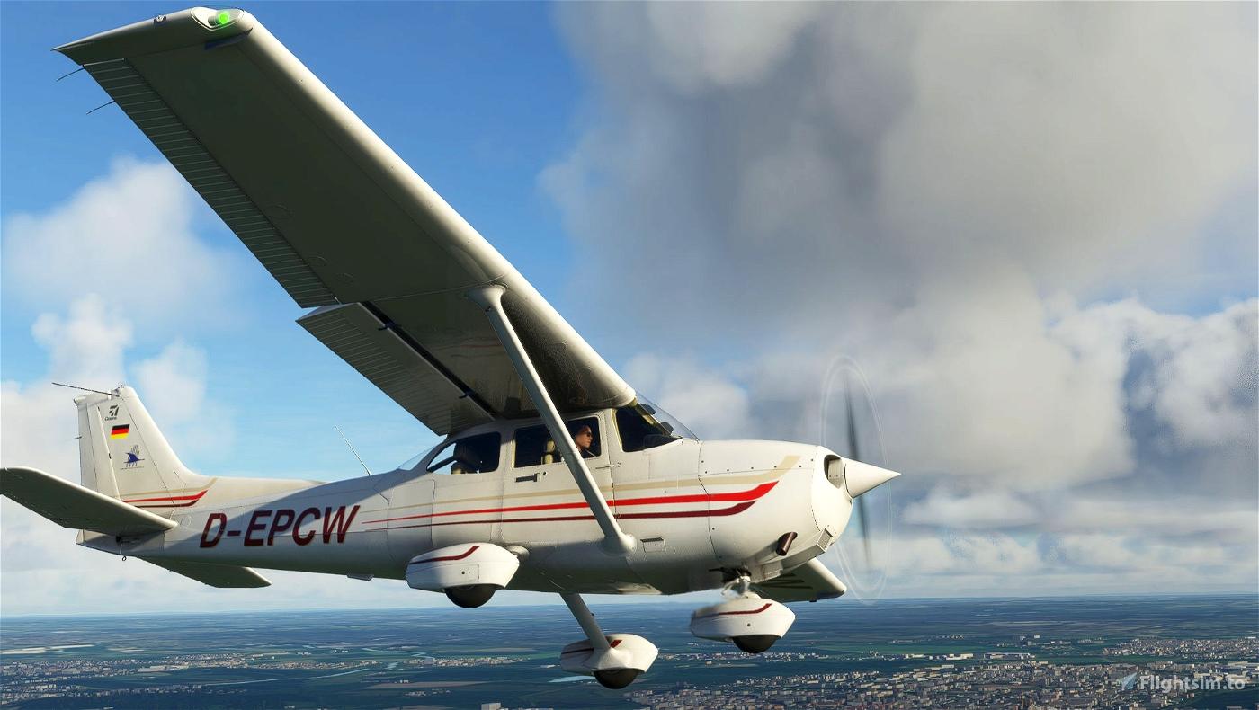 Cessna 172 Classic/AS1000 livery - Munster-D-EPCW Flight Simulator 2020