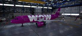 WOW Air TF-NEO Image Flight Simulator 2020
