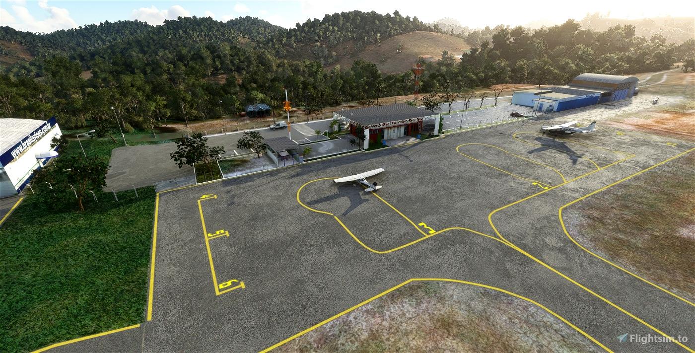 SNTO - Aeroporto Juscelino Kubitschek - Teófilo Otoni - Minas Gerais Flight Simulator 2020