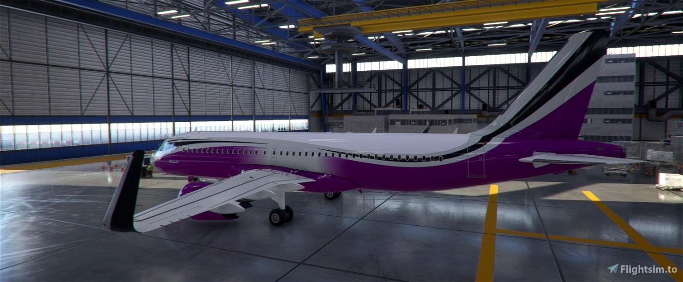 ACJ320neo colored wave designs