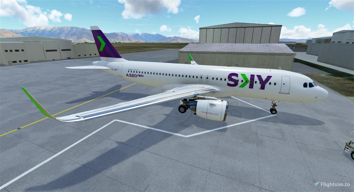 SKY Airline A320NEO CC-AZP Flight Simulator 2020