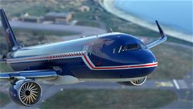 A320 Air UK Image Flight Simulator 2020