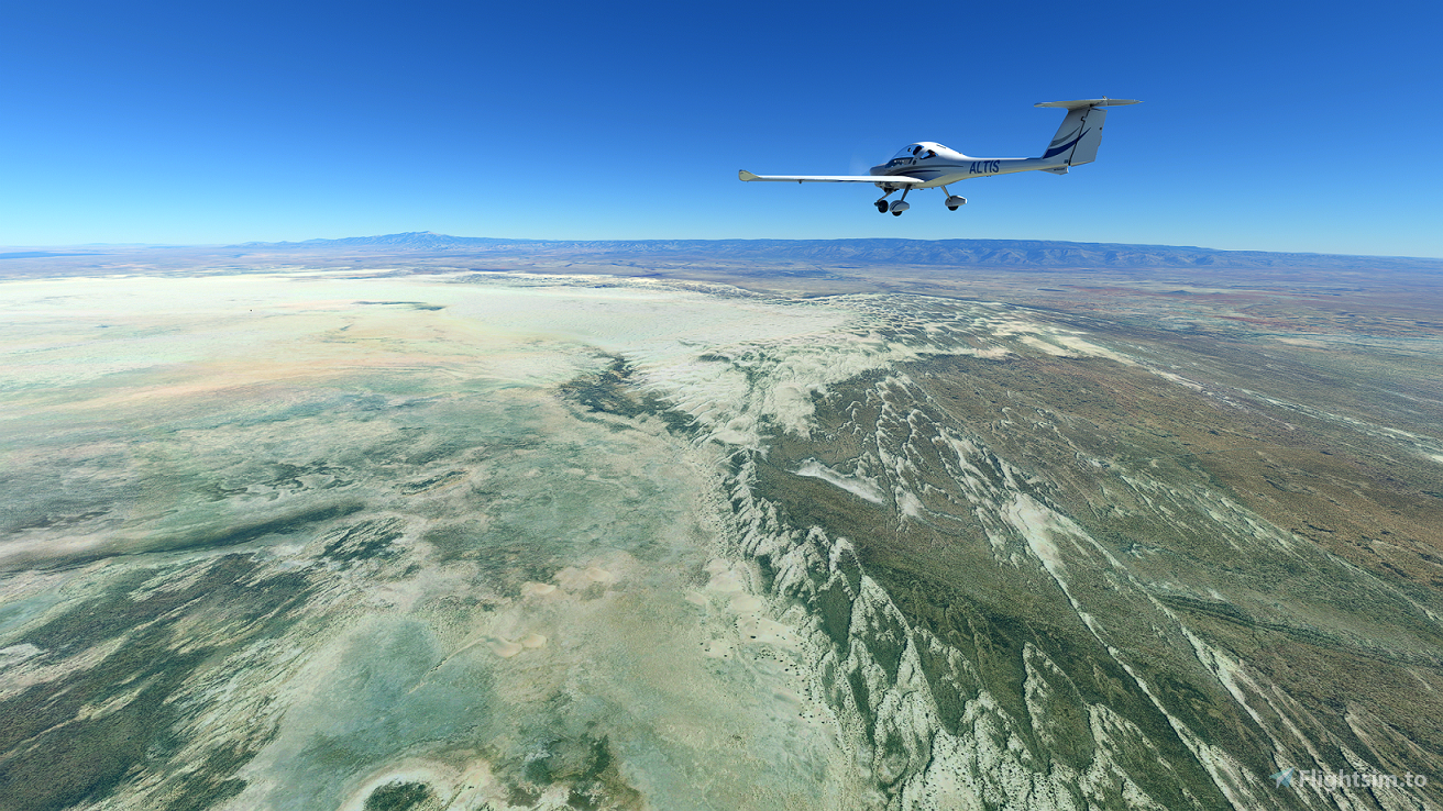 White Sands National Park Flight Plan Flight Simulator 2020