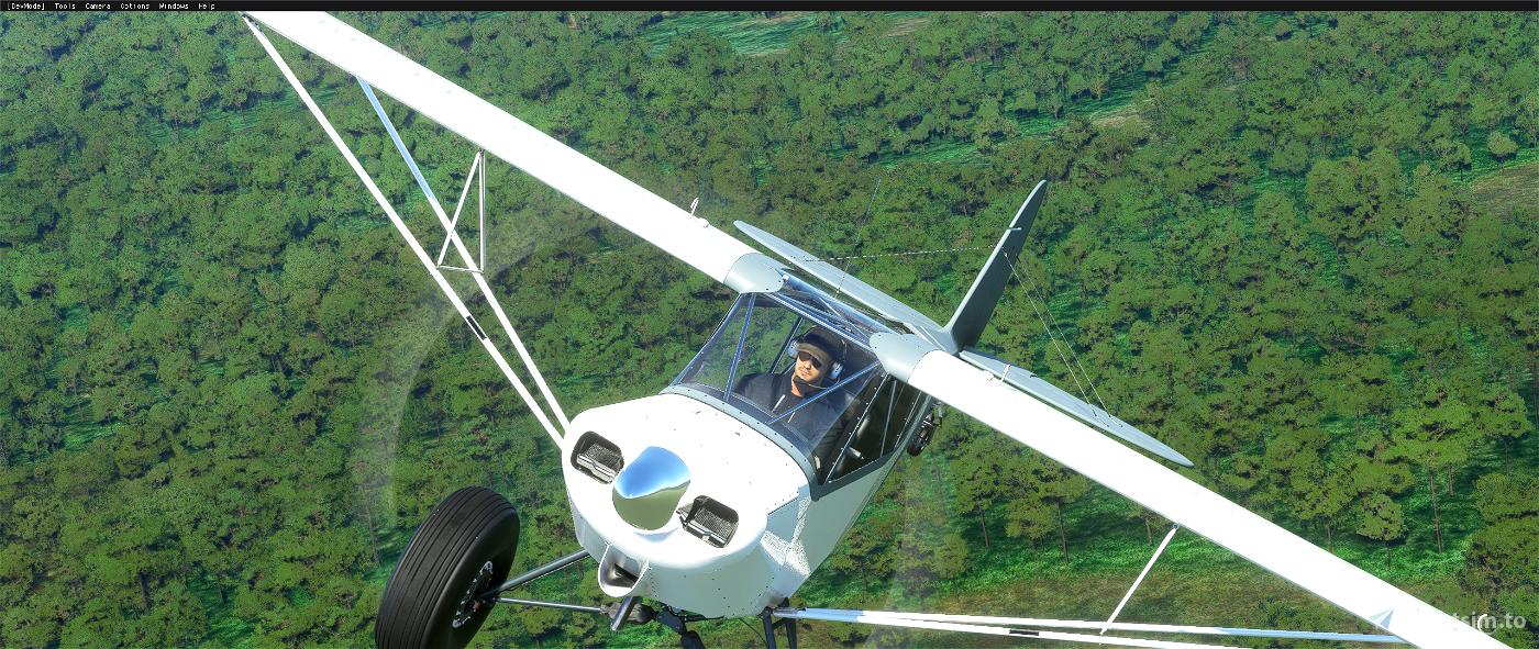 Savage Carbon - STOL Realism Mod Microsoft Flight Simulator