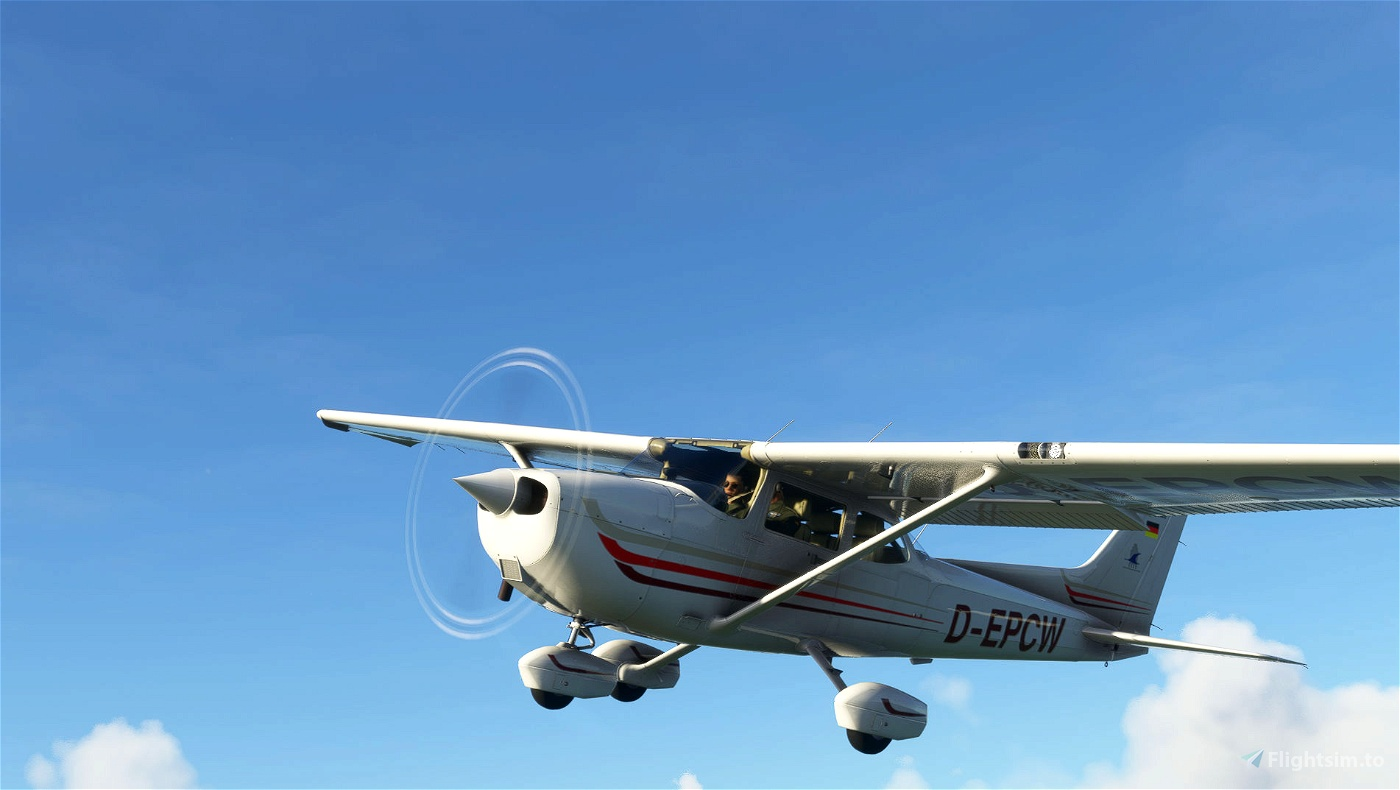 Cessna 172 Classic/AS1000 livery - Munster-D-EPCW