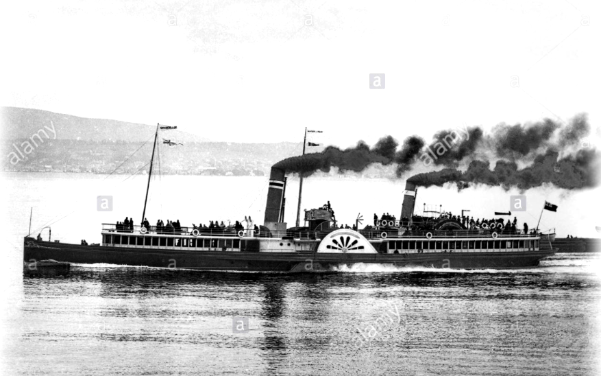 Argyll paddle steamers flight plans