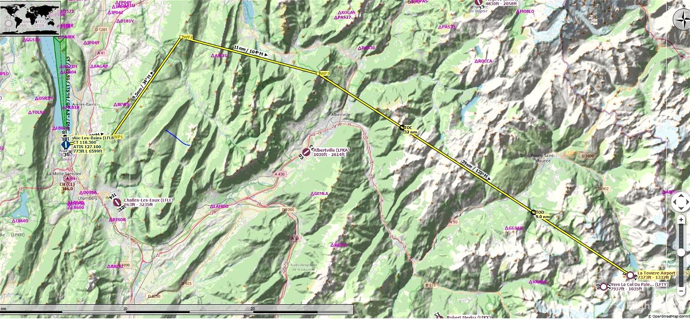 French Alps Soaring Task