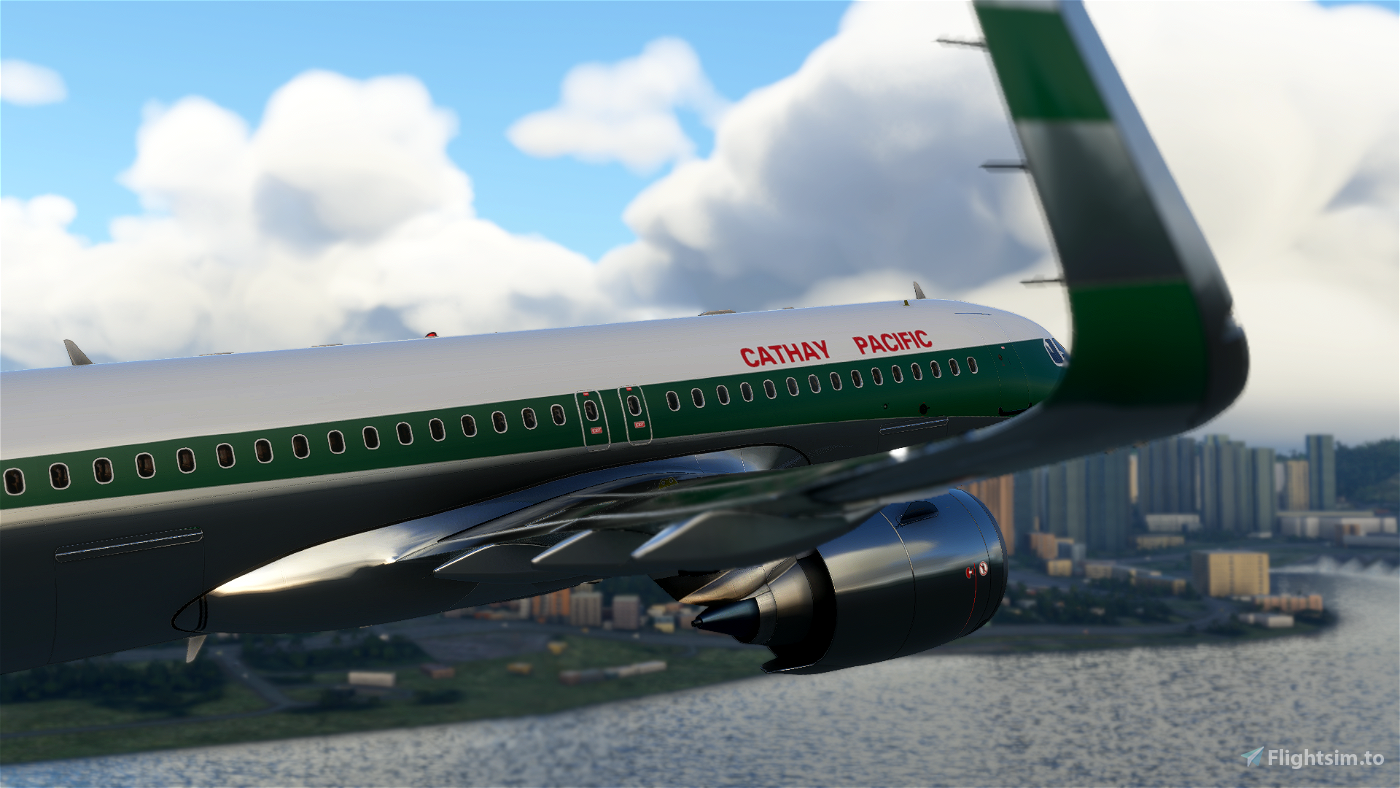 [8K] A320N Cathay Pacific (Retro)