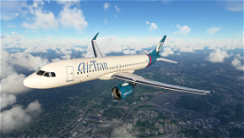 Air Tran (Old Colors) - A320Neo Image Flight Simulator 2020