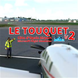 Le Touquet Côte d'Opale (LFAT) Image Flight Simulator 2020