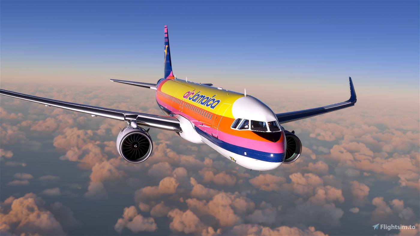 A320 Air Jamaica Flight Simulator 2020