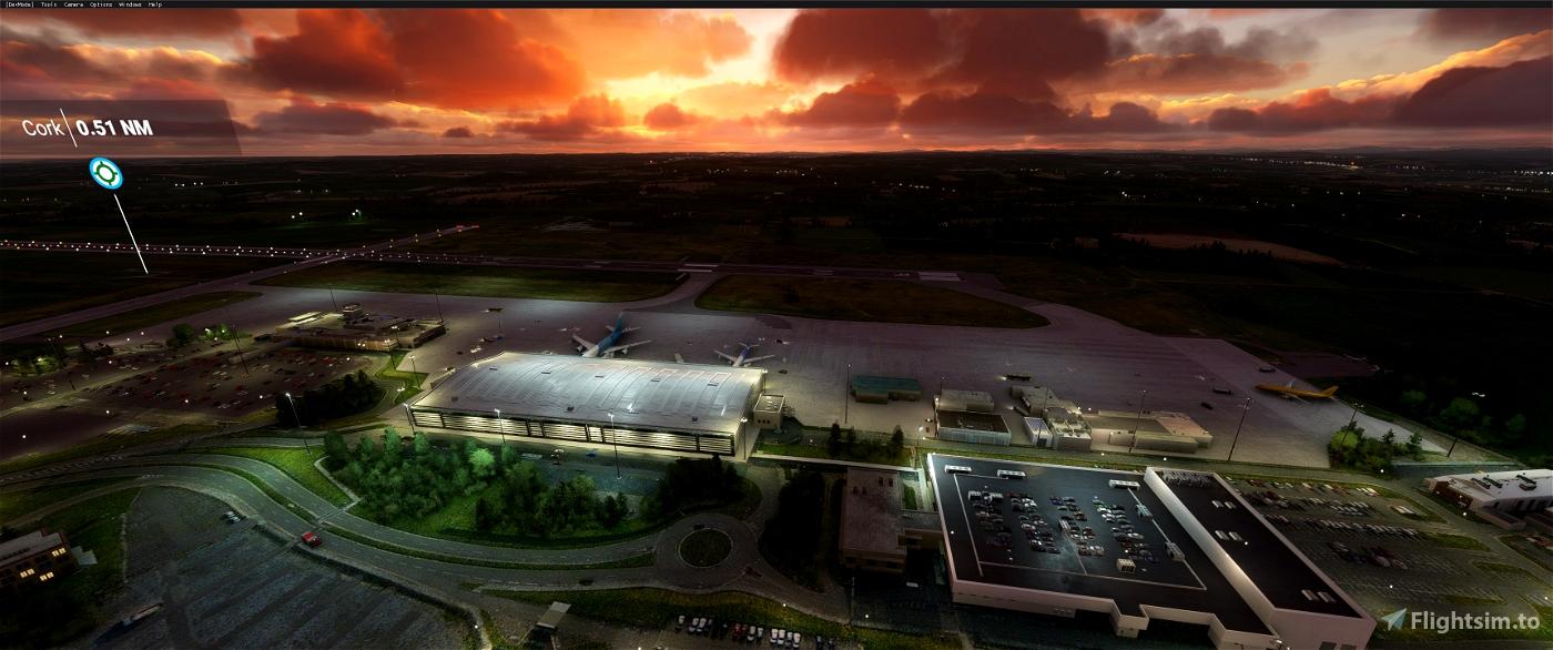 Cork Intl Airport EICK Flight Simulator 2020