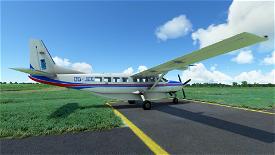 Cessna 208 B Skydive Flanders [4K] Image Flight Simulator 2020