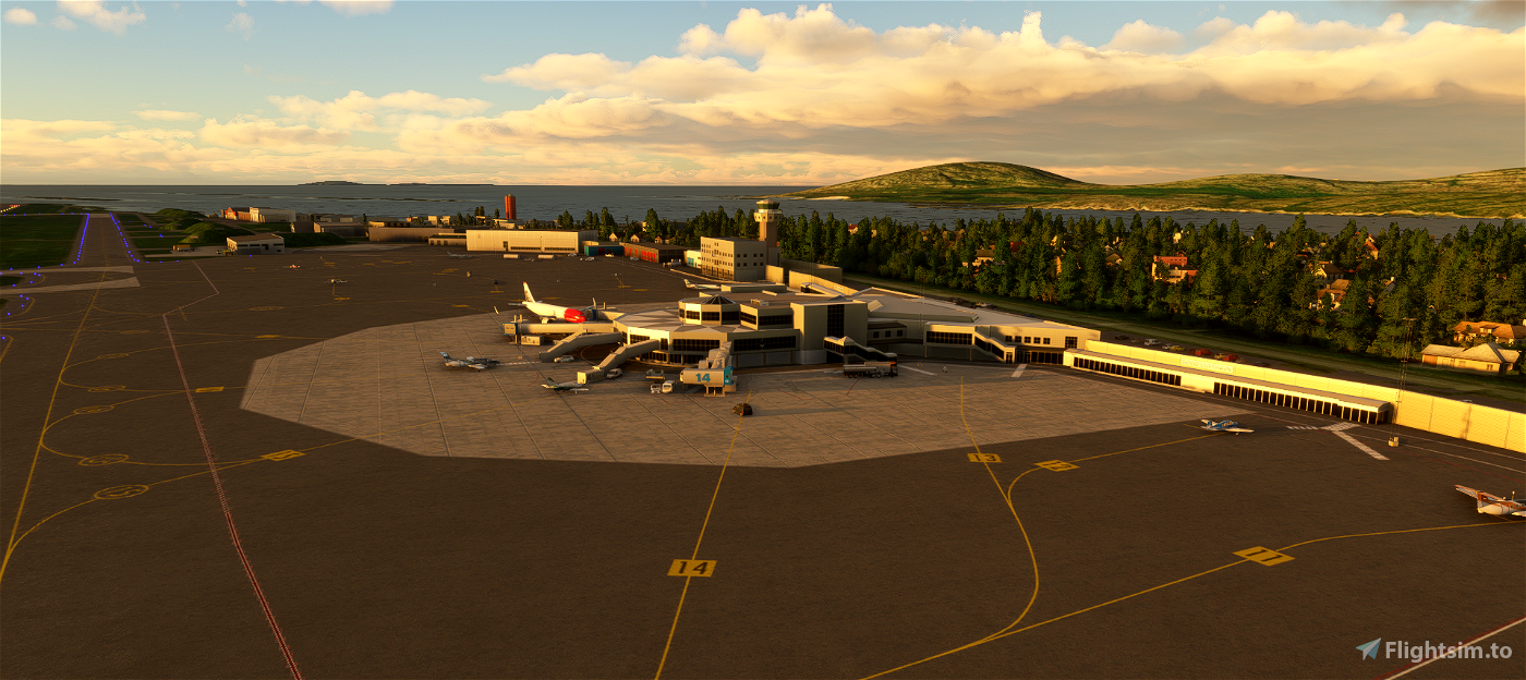 ENBO - Bodø airport and air station ( Bodo )