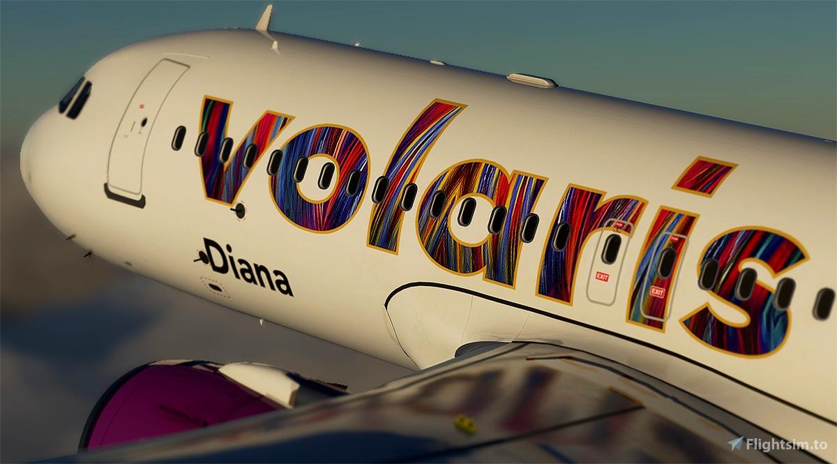 Volaris A320 neo Wonder woman 1984 N530VL(8k)