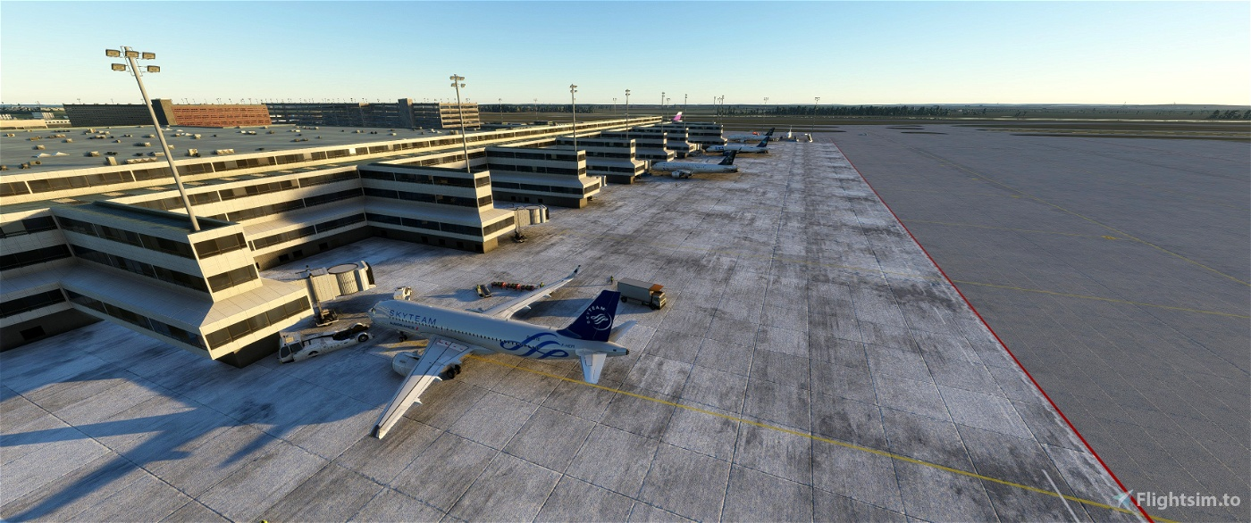 Flughafen Berlin Brandenburg Enancement [EDDB] Flight Simulator 2020