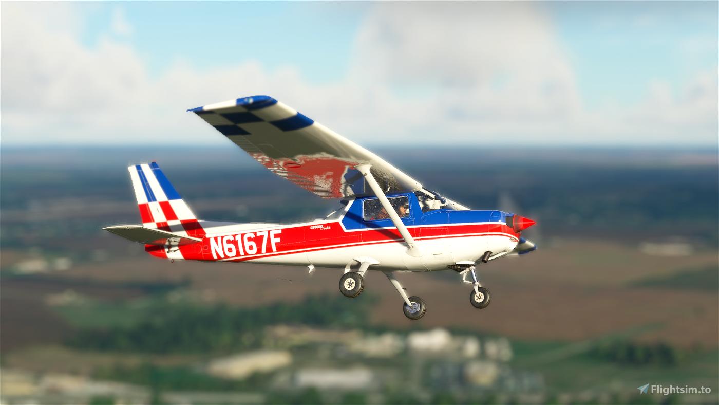 Asobo Cessna 152 Aerobat N6167F