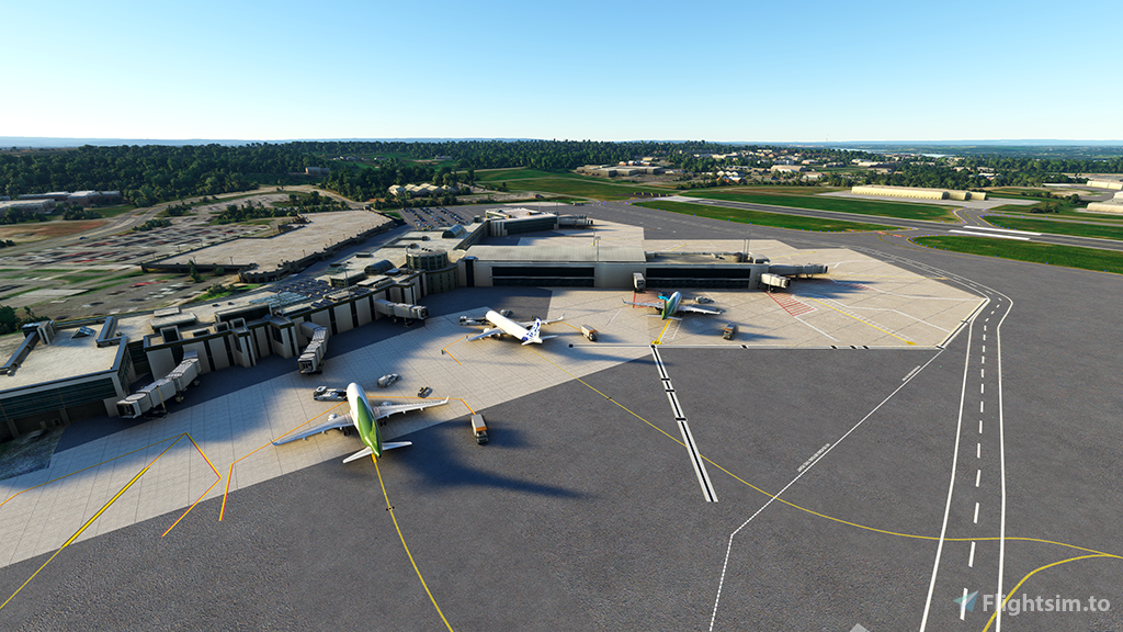 KALB - Albany International Airport, Albany, NY Flight Simulator 2020