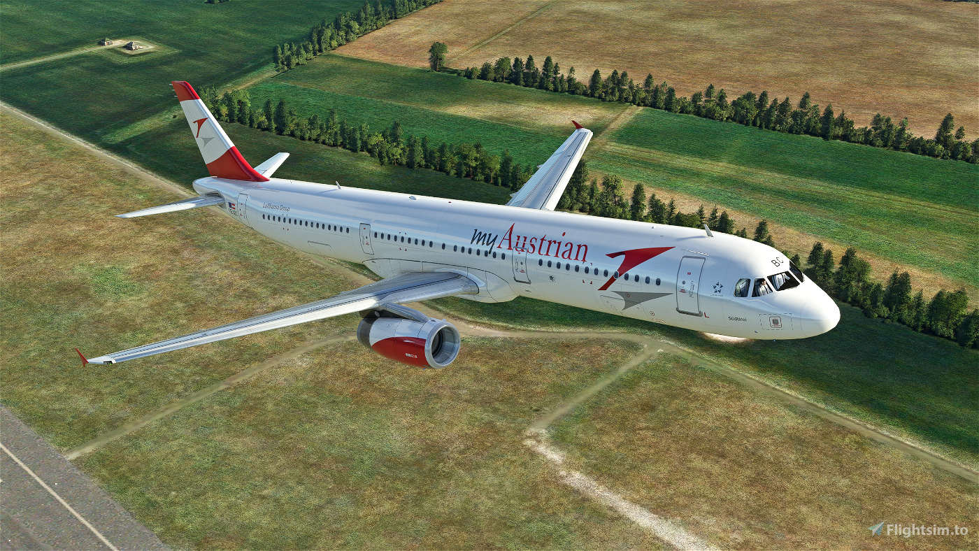 Austrian (myAustrian) A321 Flight Simulator 2020