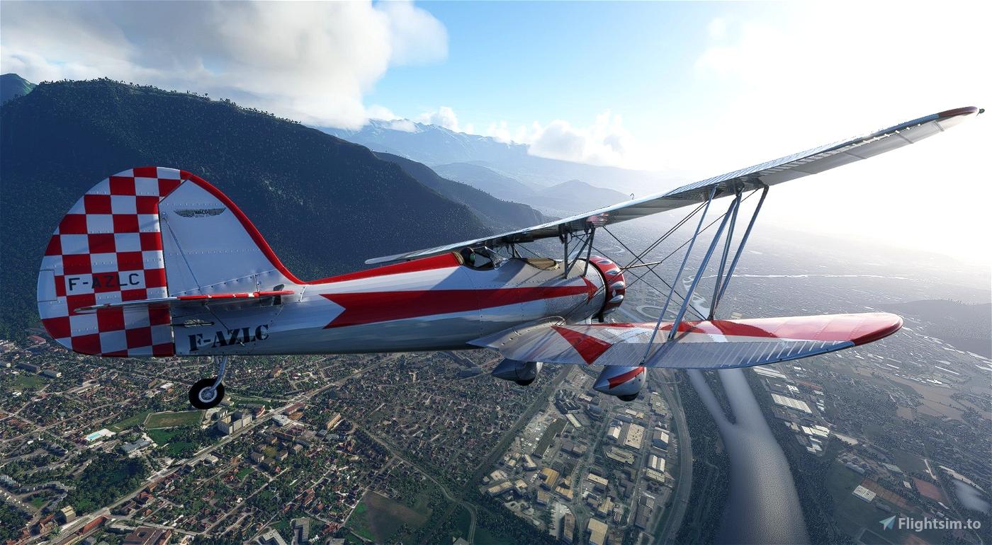Waco YMF-5 F-AZLC