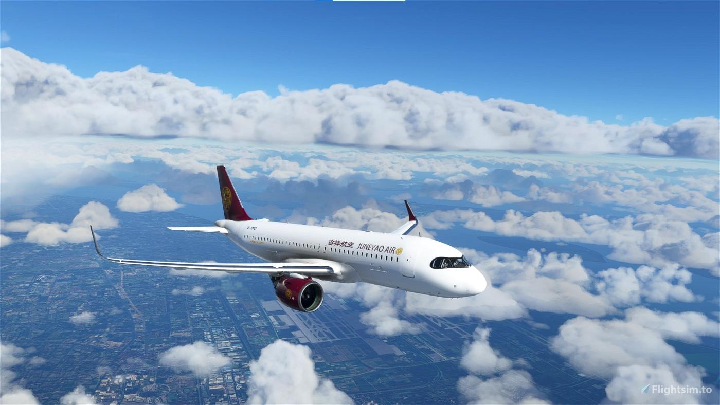 Juneyao Airlines A320neo Flight Simulator 2020