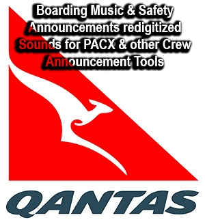 Qantas Safety Announcement and Boarding Music incl. Dreamliner Music Flight Simulator 2020