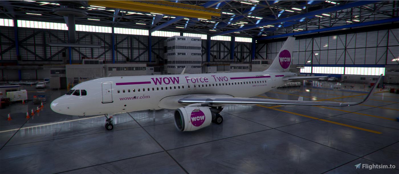 WOW Force Two Flight Simulator 2020