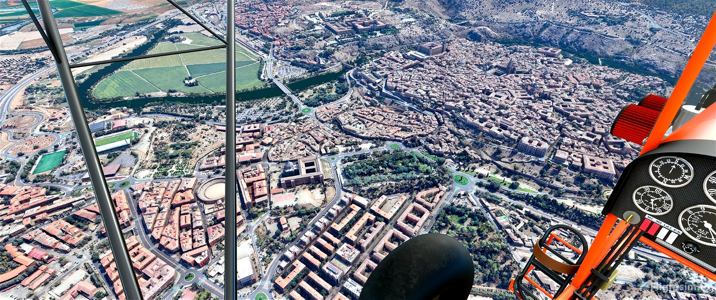 Toledo,Spain Flight Simulator 2020
