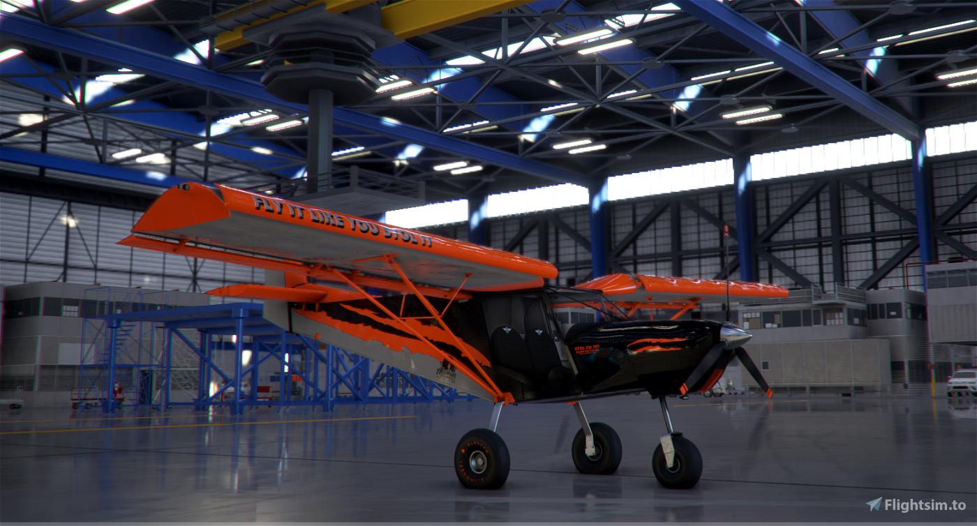 Ch-701-STOL-IT livery Flight Simulator 2020