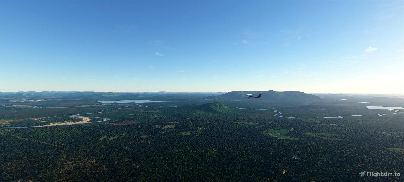 Appalachian Trail flight plan Flight Simulator 2020