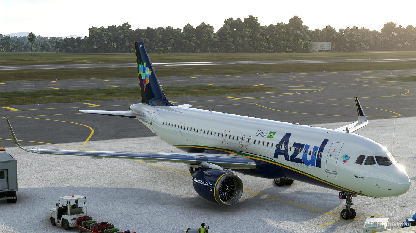 AZUL A320   10K Resolution