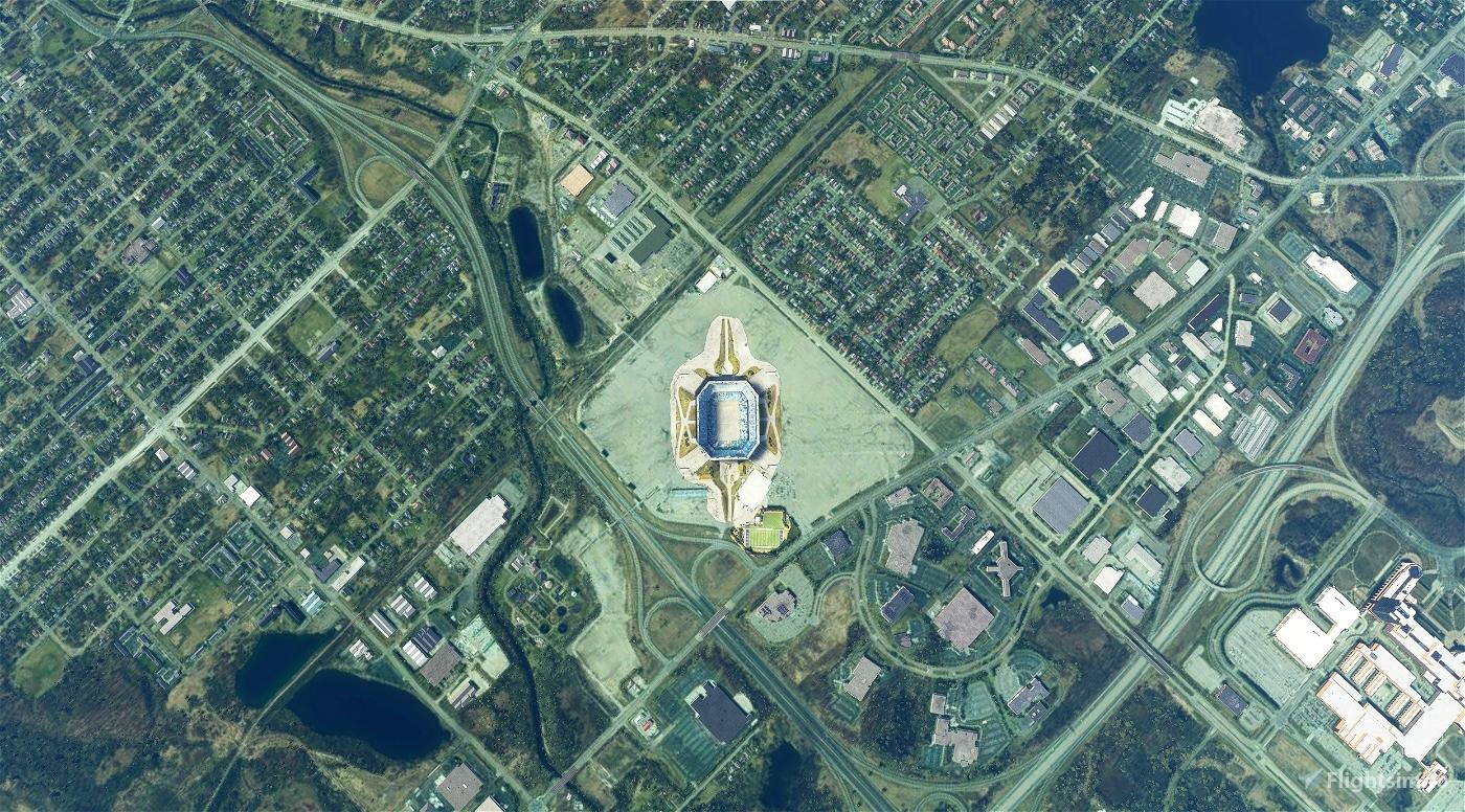 Pontiac Silverdome (circa 2015?)