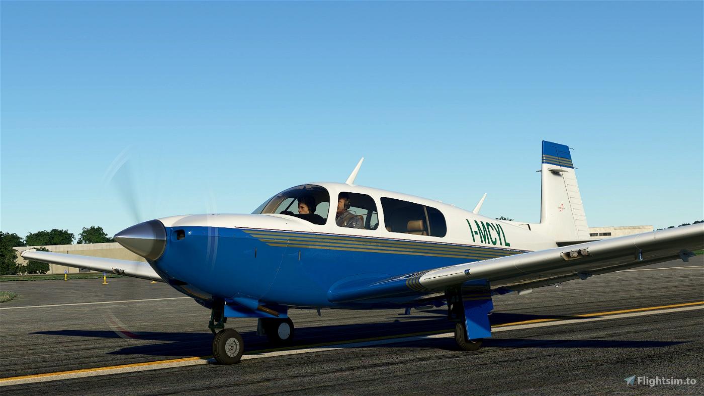 Mooney M20R Livery I-MYCL Flight Simulator 2020