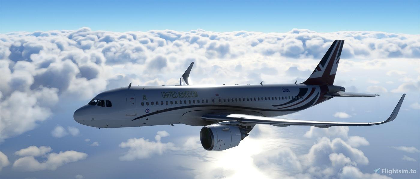 VESPINA (BRITISH AIR FORCE ONE) Flight Simulator 2020