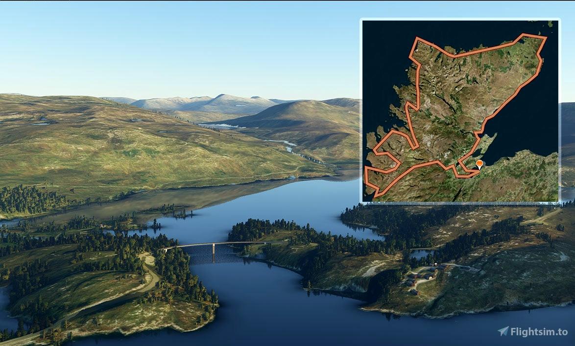 Scotland's North Coast 500 road trip by air