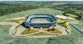 Pontiac Silverdome (circa 2015?) Image Flight Simulator 2020