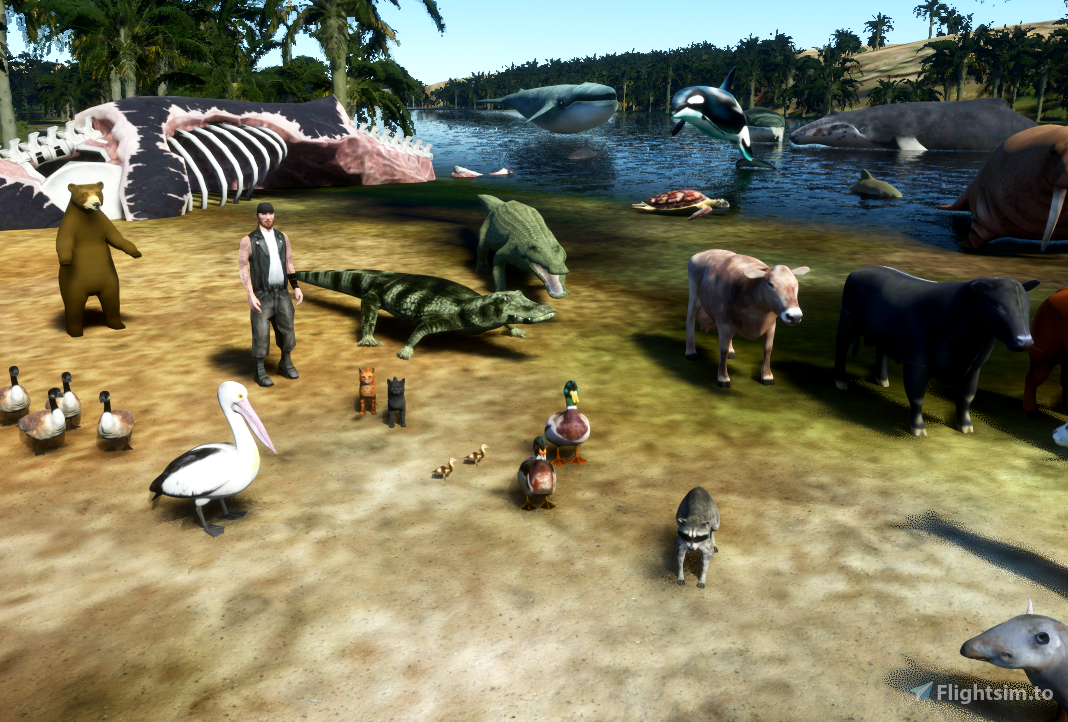 Dave's 3D animals Library