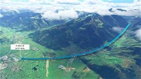 DG Flugzeugbau DG808S Landing challange LOWZ Zell am See Image Flight Simulator 2020